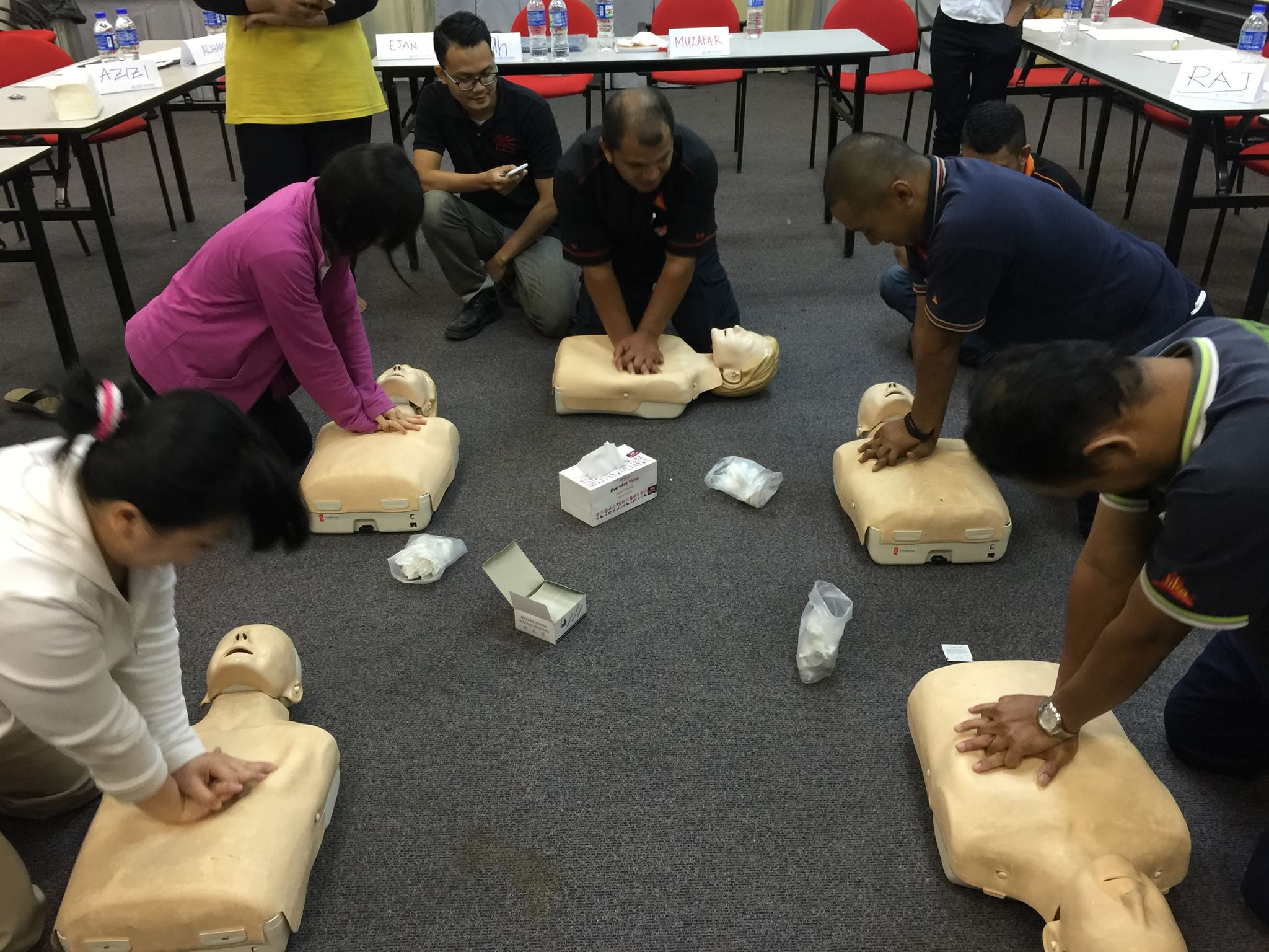 Get trained by the Leading Training Providers in First Aid, CPR & AED and stay confident in saving any victim from death.