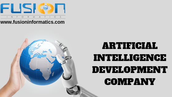 Are looking for best AI Developers? Fusion Informatics is an excellent Great experienced Artificial Intelligence developing company in Bangalore. We have been serving on Artificial Intelligence Solutions like Machine learning, deep learning, NLP and etc. Our team of experts can understand the requirements of clients and develop applications by applying artificial intelligence that will meet the needs of the client business.